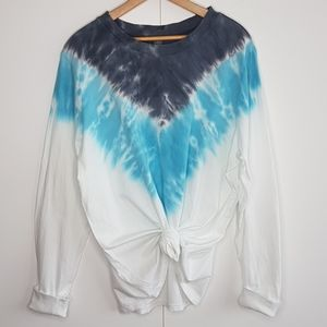 WILD FABLE Tie Dye Long Sleeve T-Shirt Size XL
